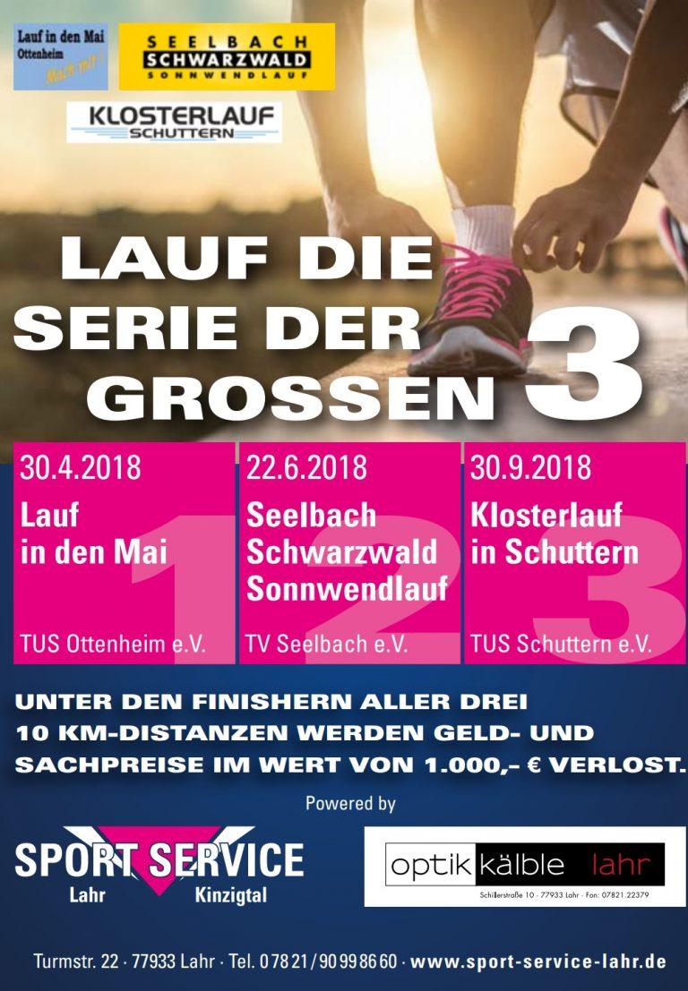 """Seelbach-Schwarzwald-Sonnwendlauf wieder Teil der Serie """"Die großen 3"""""""