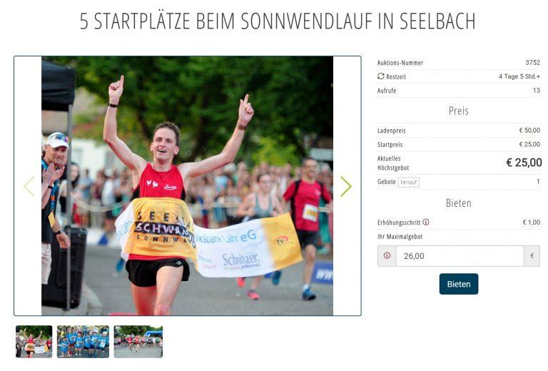 Bei der BZ-Auktion noch bis 22.4. günstige Sonnwendlauf-Startplätze ersteigern!
