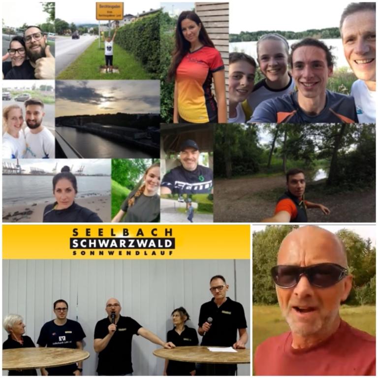 Sonnwendlauf-Virtual Run als weltweites Laufereignis /  477 Starter laufen in 13 Ländern