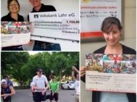 1750 Euro Spendengelder im Rahmen des Virtual Run für Aktion Deutschland Hilft e.V.